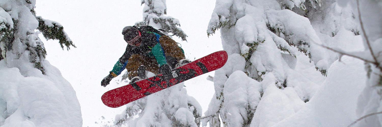 Snowboarding Freeride